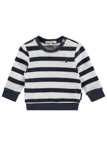 Noppies Sweater ls Verona str - Navy - maat 68