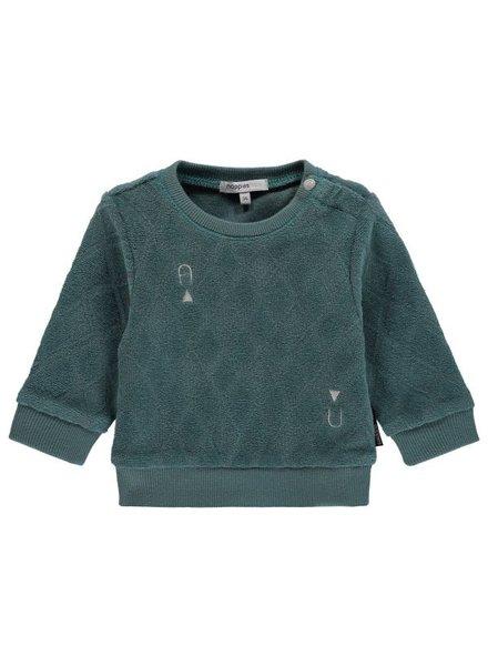 Noppies Sweater ls Vestal - Olive - maat 50 & 62
