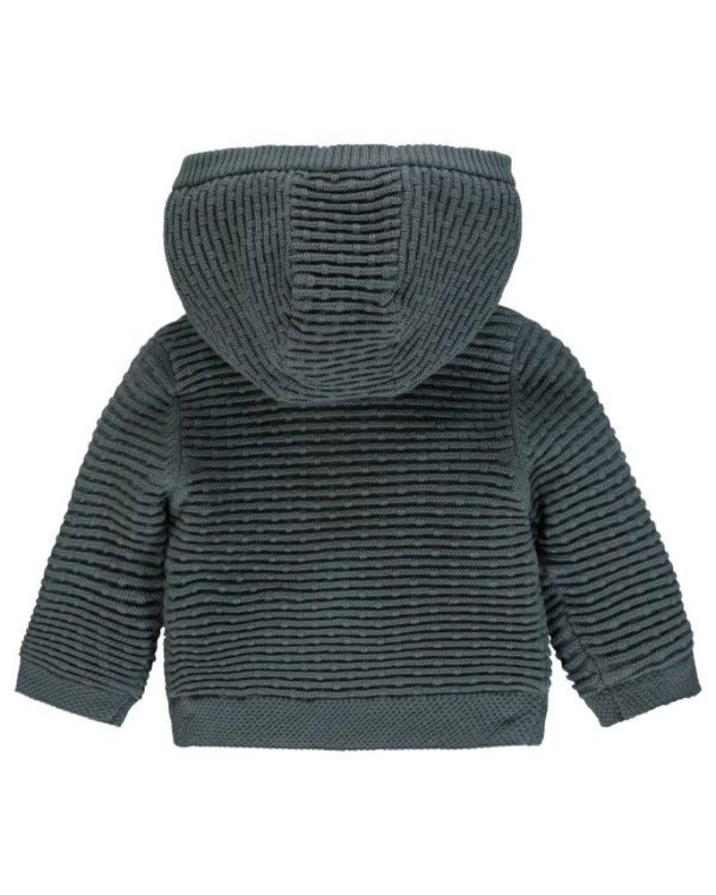 Noppies Cardigan knit ls Texas - Army - maat 56