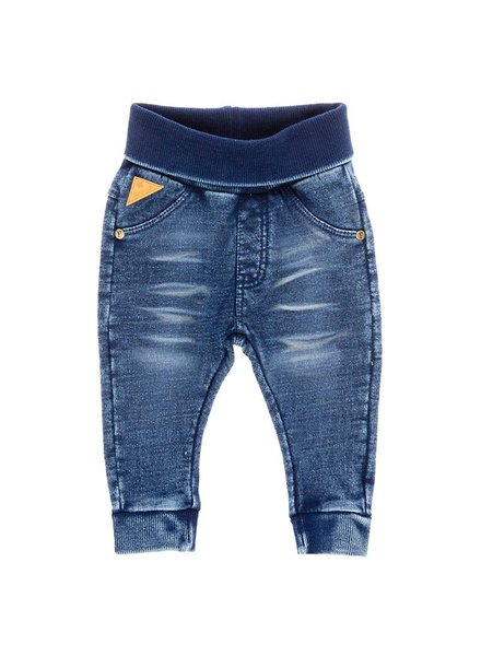 Feetje Blue knitted denim slim fit - Blue denim