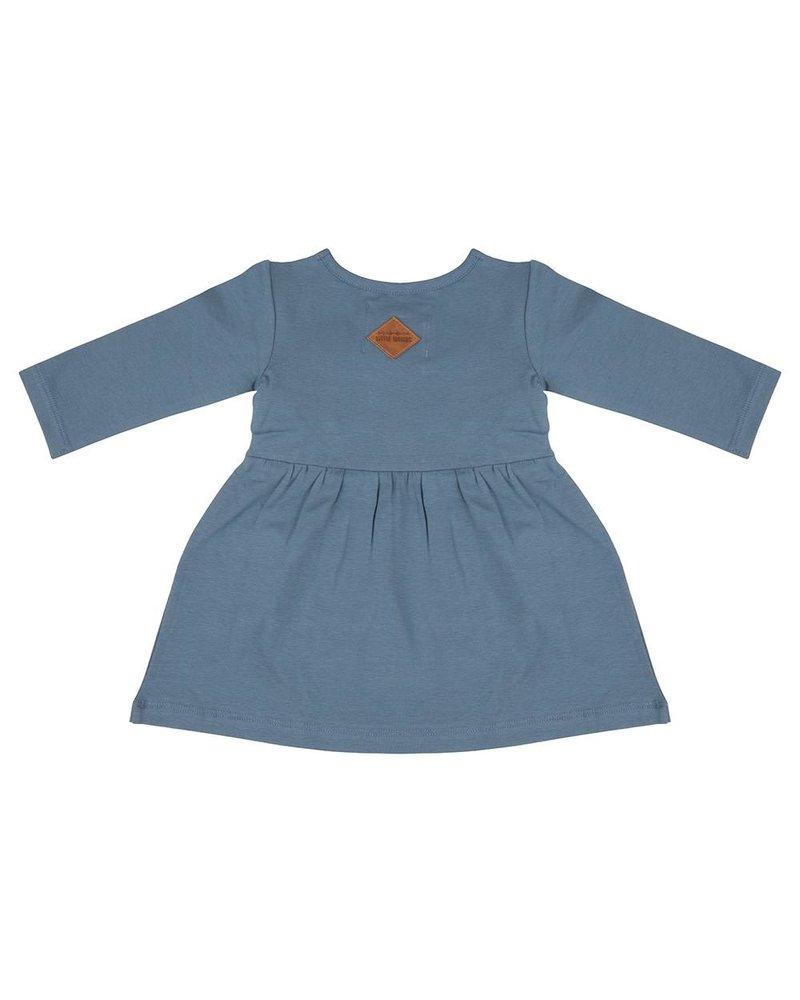 Little Indians Boho Dress Blue