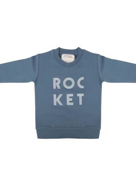 Little Indians Sweater Rocket Blue