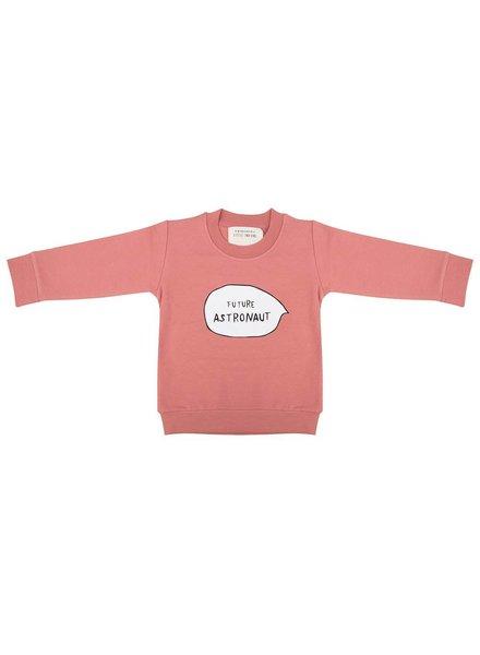 Little Indians Sweater Future Astronaut Rose