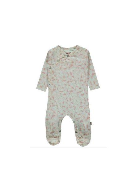 Kidscase Snoop organic NB footed suit Pink