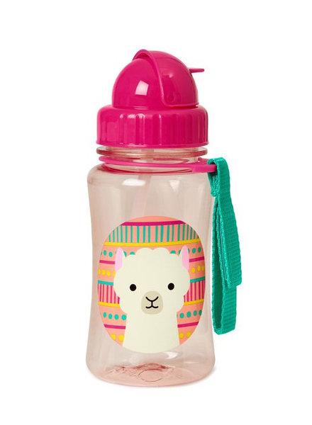 Skip Hop Zoo Straw Bottle - Lama