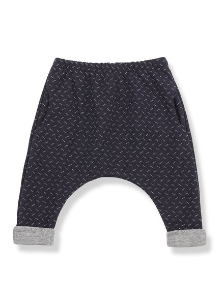 1 + In the Family Therese pants blue/grey - maat 9M