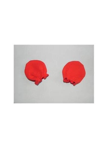 Krabwantjes - rood