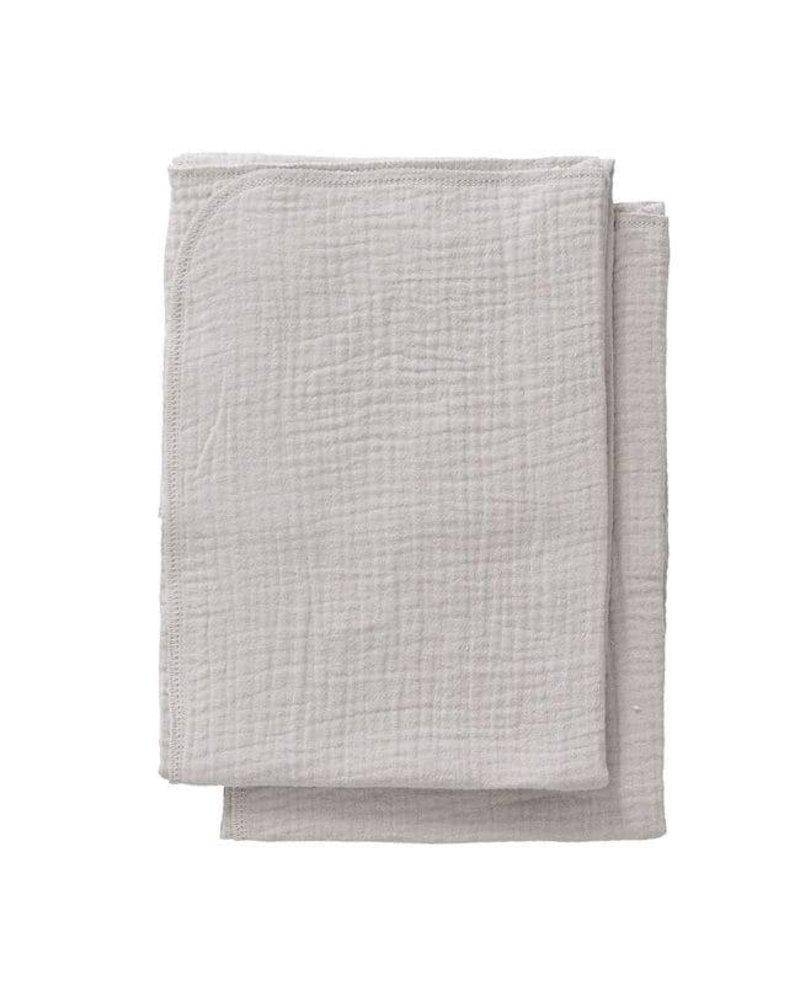 Cottonbaby Cottonsoft multidoek S lichtgrijs per 2