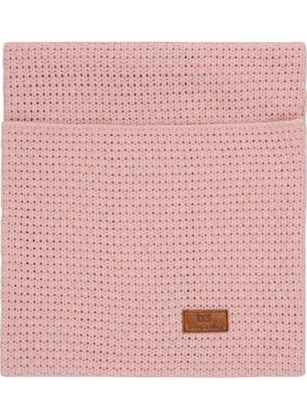 Baby's Only Wiegdeken - Robust Korrel Uni - oud roze