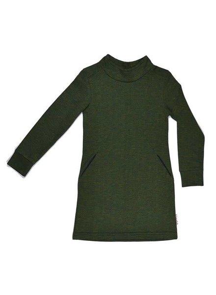 Baba Babywear Collar dress - Blocks back side