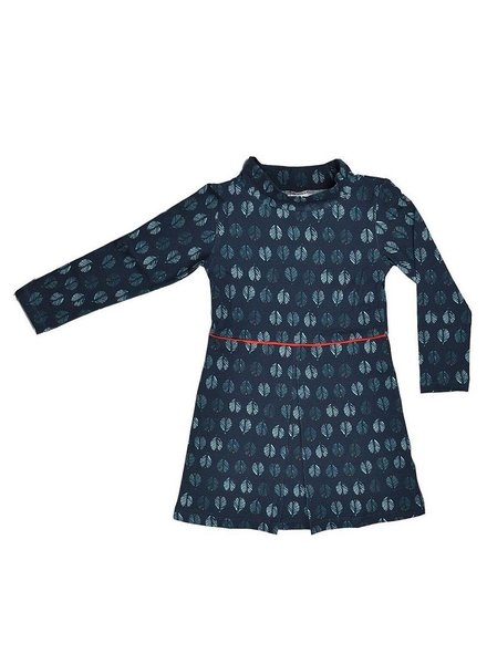 Baba Babywear Pleat dress - Feather - maat 104