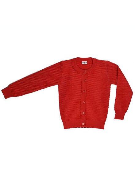 Baba Babywear Cardigan  - Red