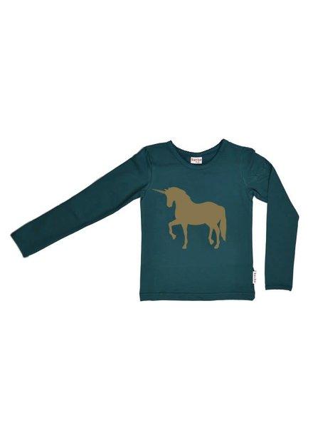 Baba Babywear Longsleeve  - Unicorn - maat  80, 86 & 104