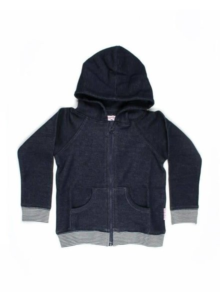 Baba Babywear Hoodie - Blocks back side
