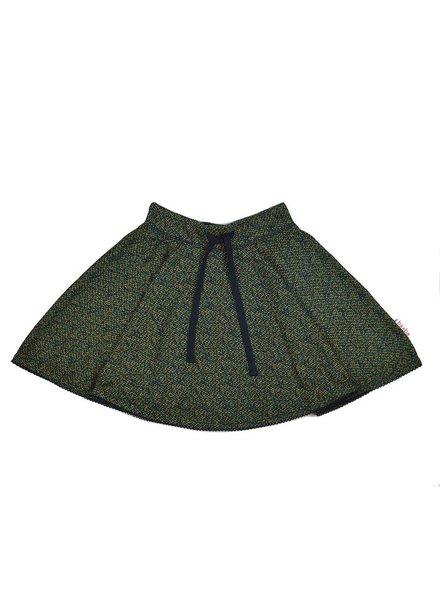Baba Babywear Full circle skirt - Blocks back side - maat 116