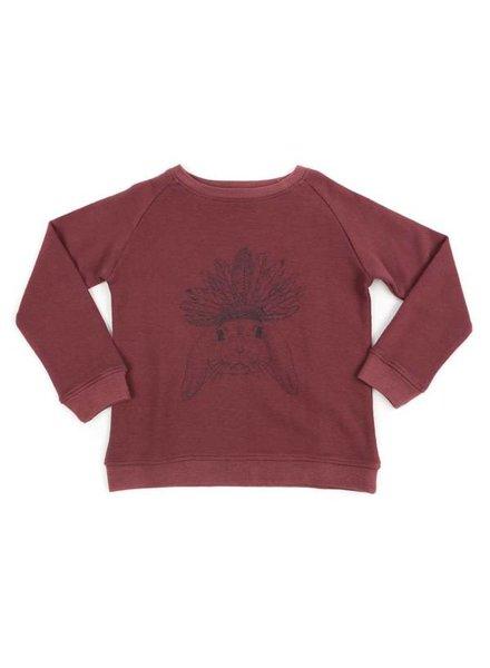 Liv + Lou Pavlov sweater rose brown - maat 92