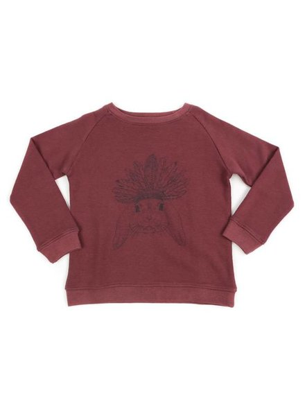 Liv + Lou Pavlov sweater rose brown