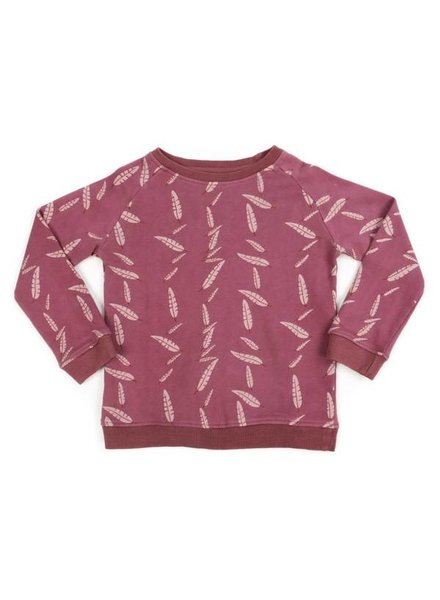 Liv + Lou Pavlov sweater AOP falling feather