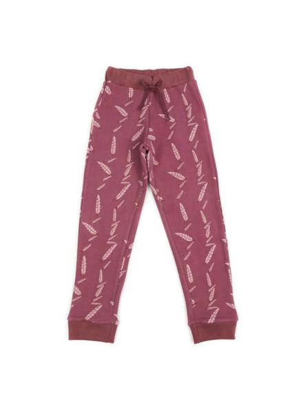Liv + Lou Preston sweat pants falling feather