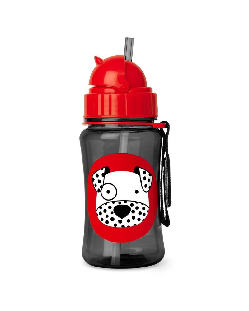 Skip Hop Zoo Straw Bottle - Dalmatier