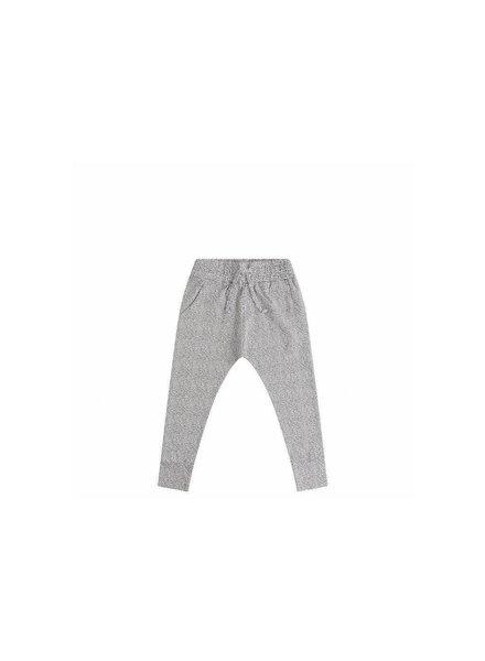 Mingo Slim fit jogger - Black/white dot