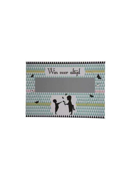Minimou Kraskaart - Wil jij mijn meter worden?