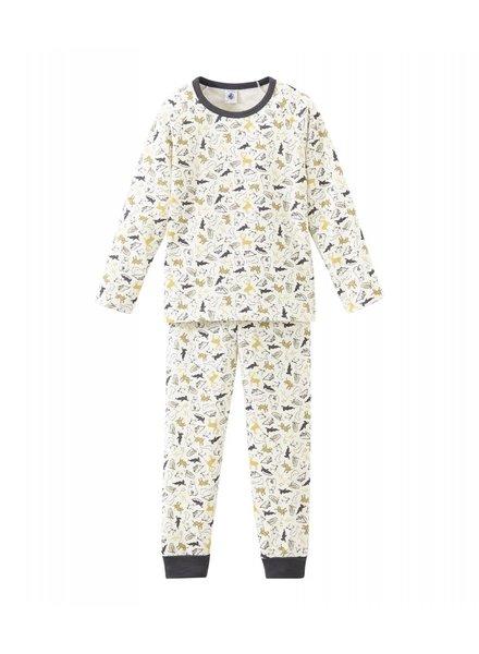 Petit Bateau Pyjama met diertjesprint