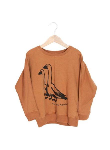 Lötiekids Loose sweatshirt - Gooses - Flame - MAAT 80/86 & 116/122