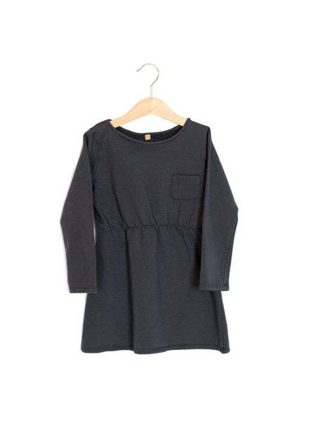 Lötiekids Dress - Solid - Vintage black