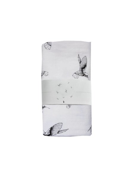 Mies & Co Swaddle Cloud Dancers - White (120x120)