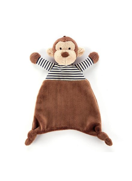 Jellycat Stripey Monkey Soother