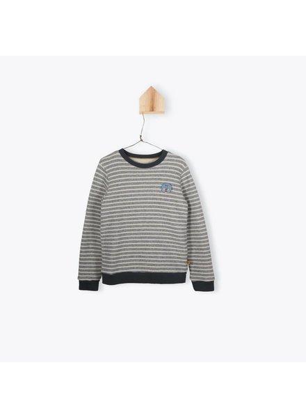 Arsene et les Pipelettes Sweatshirt molleton rayure