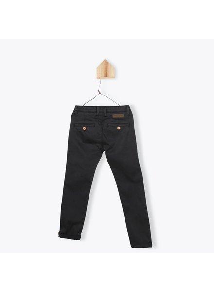 Arsene et les Pipelettes Pantalon gabardine stretch anthracite