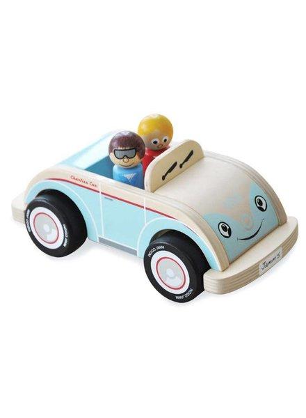Indigo Jamm Charlie's car