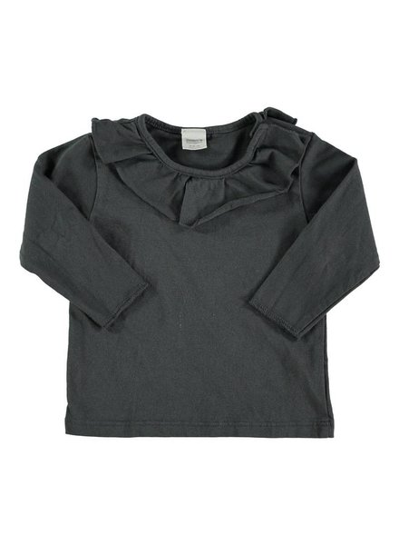 Beans Tuixent - Organic cotton shirt - Anthracite