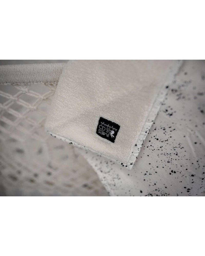 Mies & Co Baby soft teddy blanket Galaxy offwhite