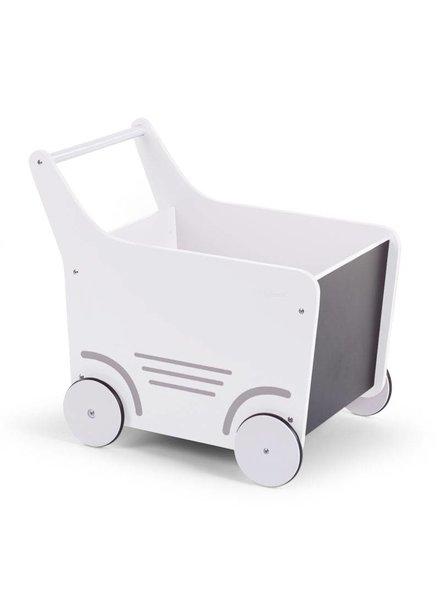 Childhome Houten wandelwagen - Wit