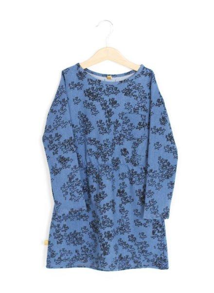 Lötiekids Denim dress - Rainprint - Denim