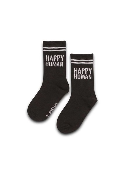 Cos I Said So Socks Black Happy human