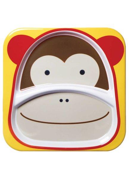 Skip Hop Zoo Divided Plate - Monkey