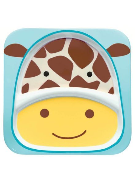 Skip Hop Zoo Divided Plate- Giraffe