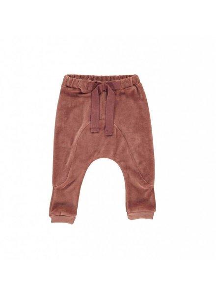 Gro Company Gro velvet - baby pant - maat 74 & 80