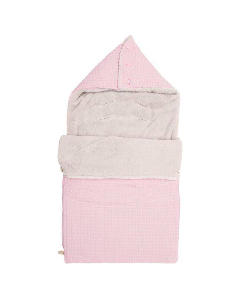Koeka Baby Voetenzak Oslo - Blush Pink/ Pebble (429/230)