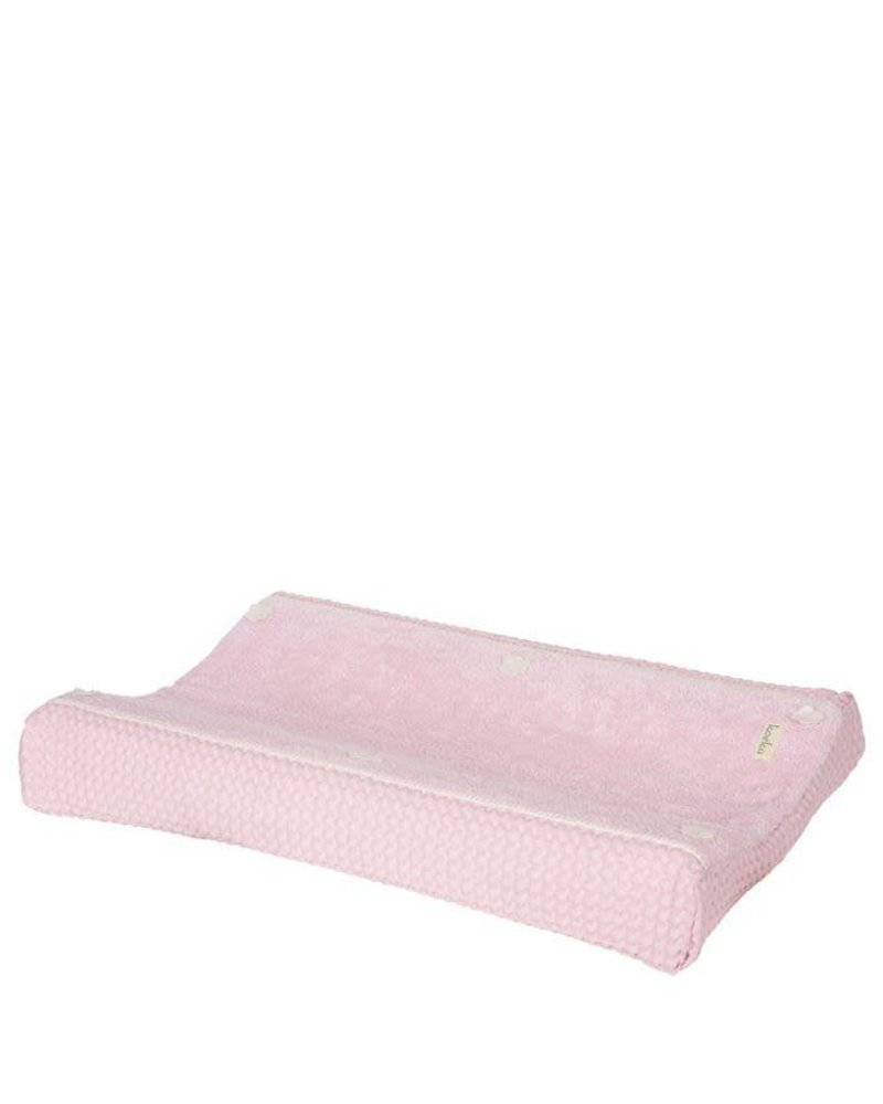 Koeka Commodekussenhoes Amsterdam - Blush Pink -429