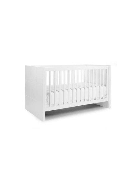Childhome Quadro White - Meegroeibed (70 x 140) + Zijlatten