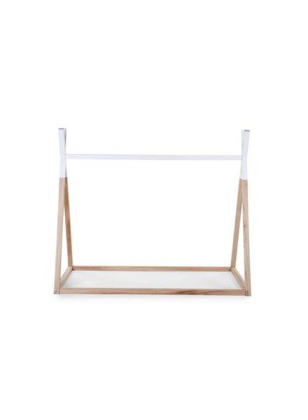Childhome Tipi - Bed Nat/Wit (70 x 140)