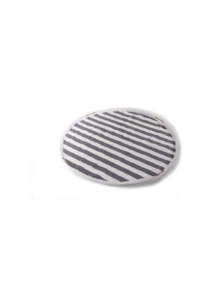 Childhome Tipi - Playmat/ Toybag Stripes/ Zigzag