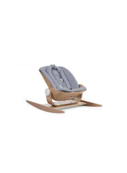 Childhome Wood Rock Comfortkussen - Jersey Grey