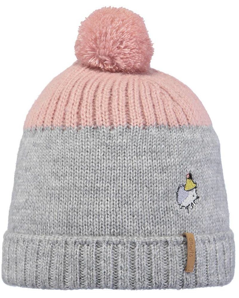 Barts Donte Beanie - dusty pink- Maat 47 & 50