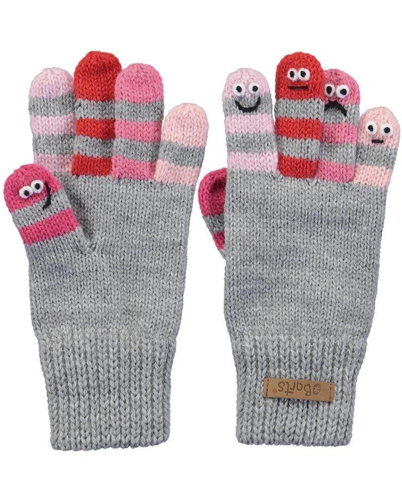 Barts Almanzo Gloves - heather grey